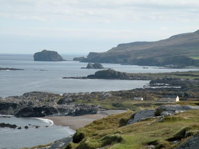 The White Strand, Buncrana Beach, Inishowen, Donegal