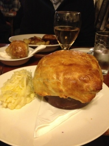 Chicken Pie at Church House Inn