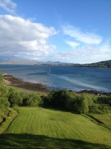 View from Kinloch Lodge