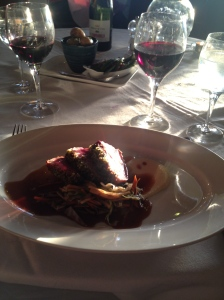 Dinner at Wineport Lodge