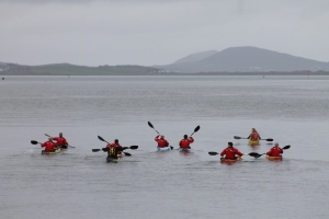 Kayaking with Clew Bay Kayaks. Photo Credit: DestinationWestport